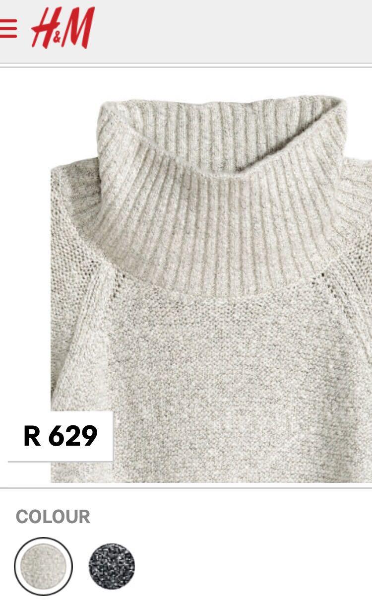 H&M Knitwear Dress Retail Price - R 629