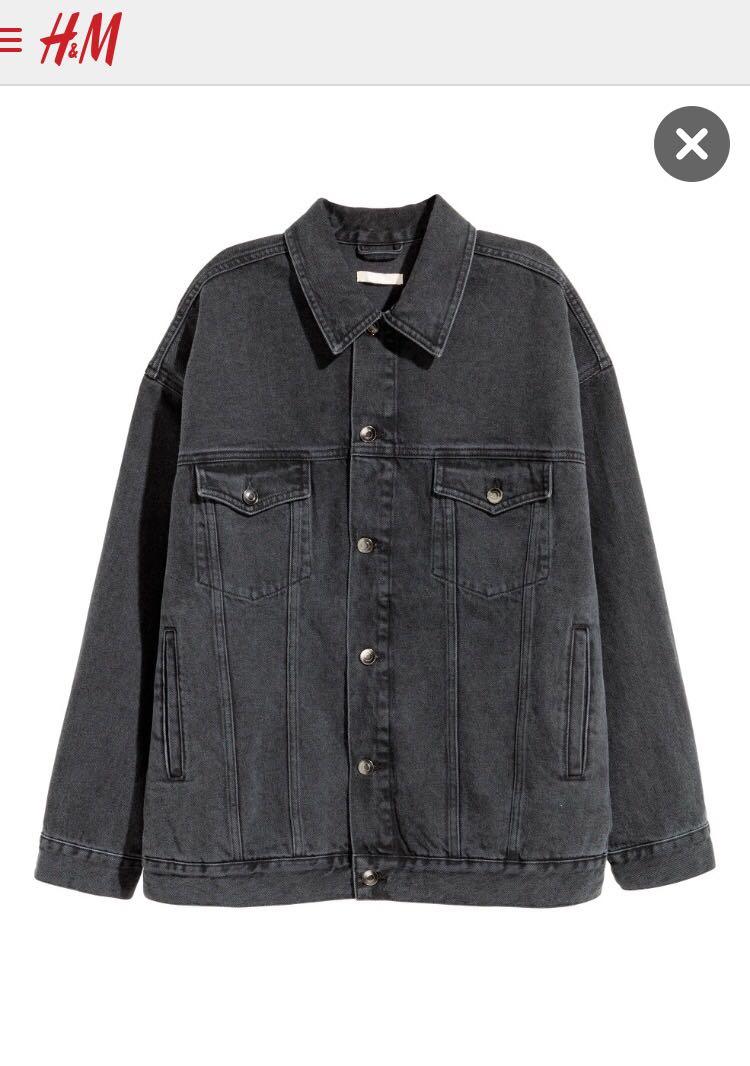 H&M Over-Sized Denim Jacket Retail Price - R 899
