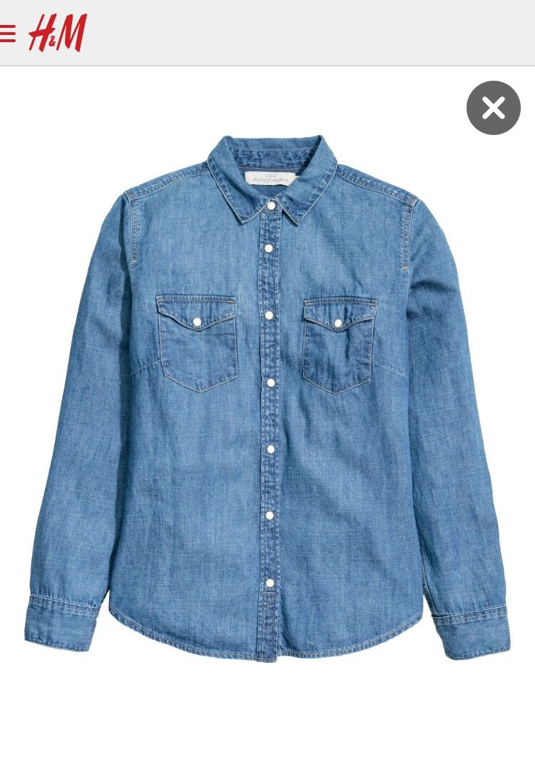 H&M Denim Shirt Retail Price - R 379